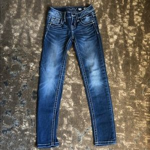 Miss Me girls.  Jeans size 7.